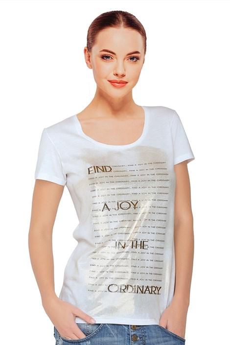 Dámske tričko Sara White s modalom