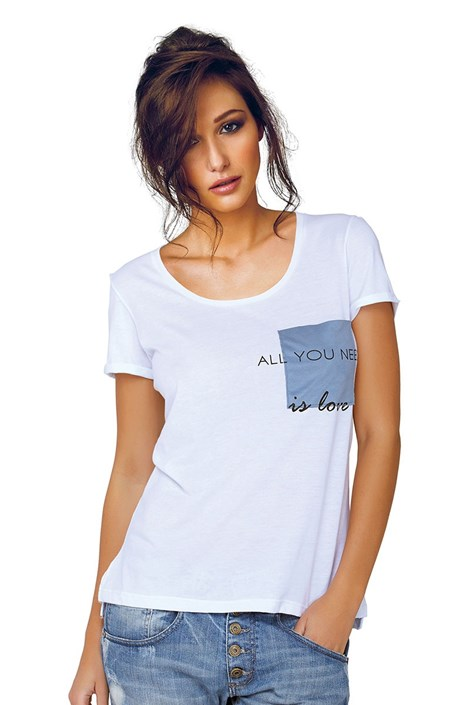 Dámske tričko Jadea 4545v1 s modalom