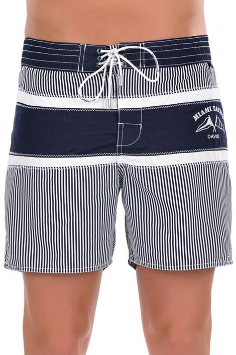 Pánske luxusné talianske plavky 5952D6 - dlhšia nohavička