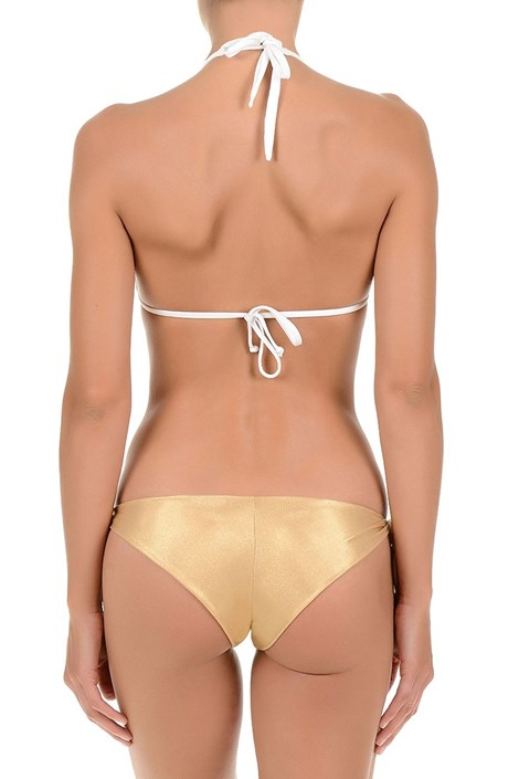 Horný diel dámskych luxusných plaviek Gold bez kostíc