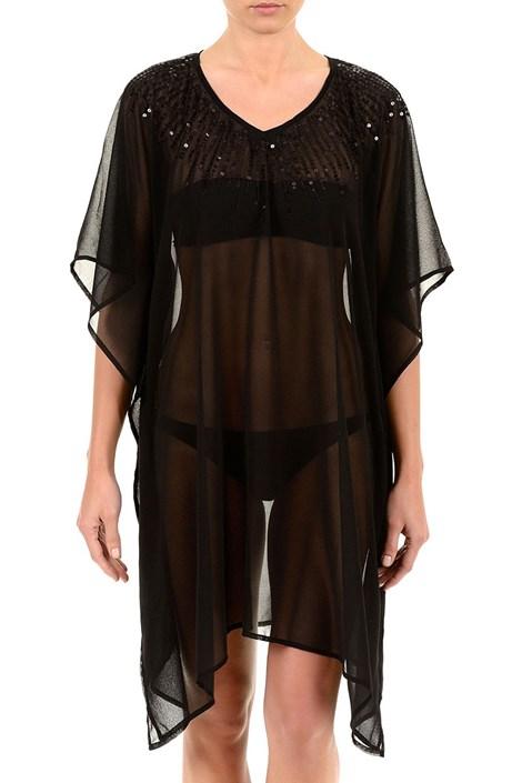 Luxusné plážové šaty z kolekcie Iconique 6606 Black