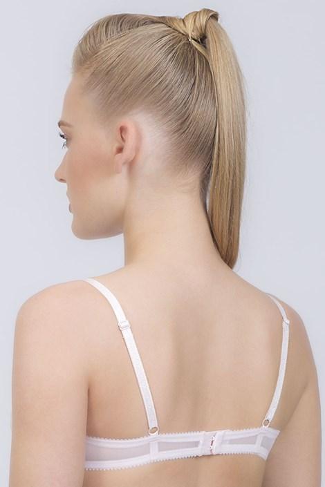 Podprsenka Paris nevystužená elastická bez kostíc