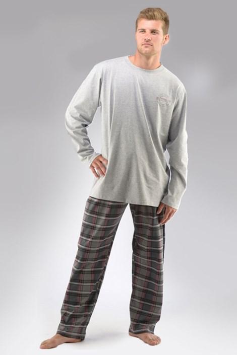 Pánske pyžamo Aleš dlhé