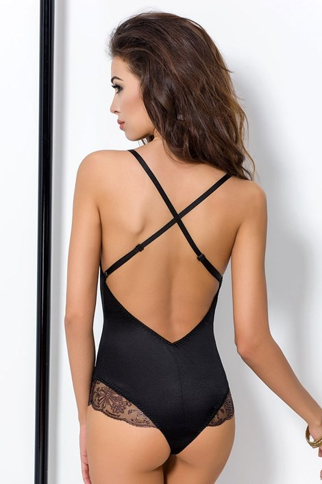 Elegantné body Brida Black