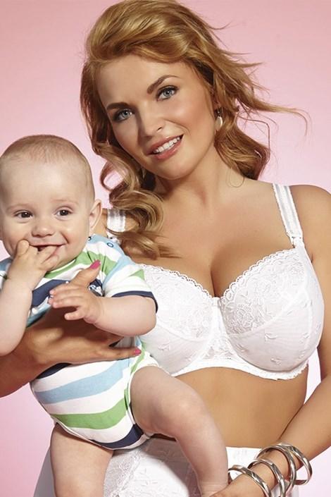 Dojčiaca podprsenka Brillant mama nevystužená