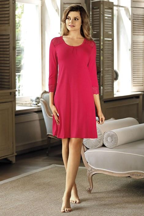 Elegantná košeľa Clara malinová