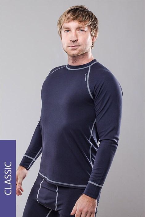 Termo tričko pánske Classic - šedé