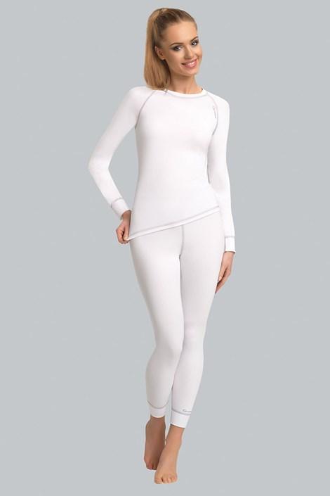 Termo nohavice Claccis - biele