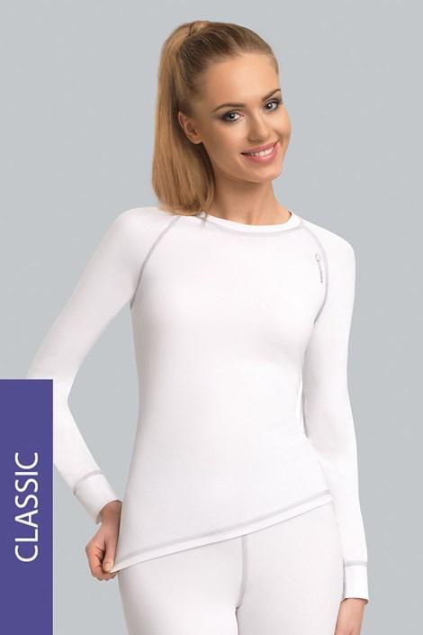 Termo tričko Classic - biele