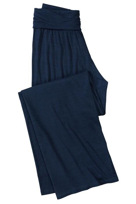 Dámske pohodlné nohavice z viskózy