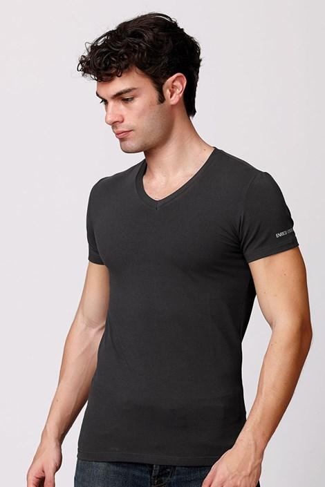 Pánske talianske tričko Enrico Coveri ET1501 Londra bavlnené