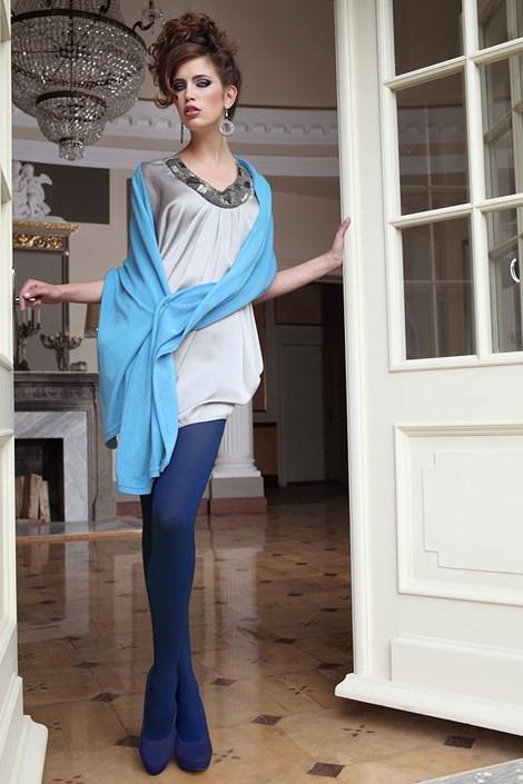 Elegantné pančuchové nohavice Glamour Soft Blue