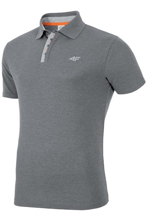 Pánske športové tričko s golierom