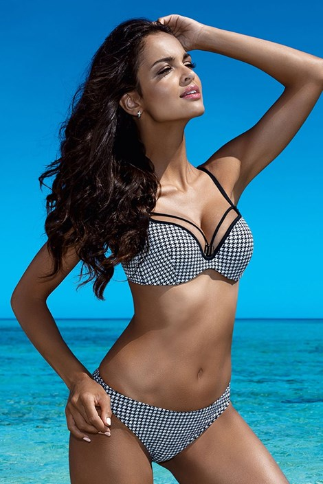 Dámske dvojdielne plavky Lalia Push-Up s kosticami