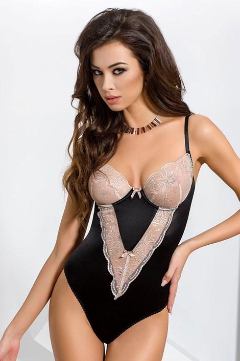 Elegantné body Lotus Black