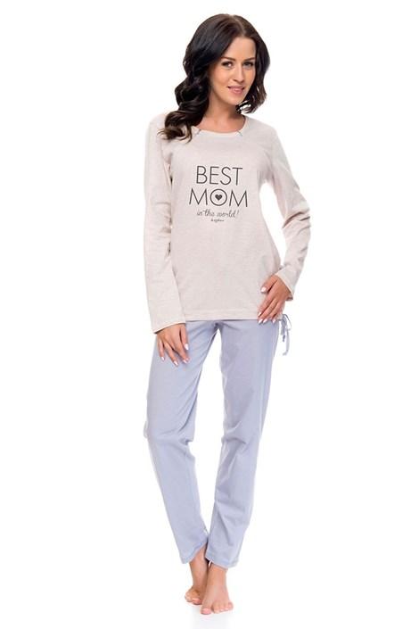 Dámske bavlnené pyžamo Best Mom