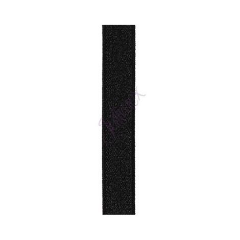 Textílne ramienka 14 mm čierne