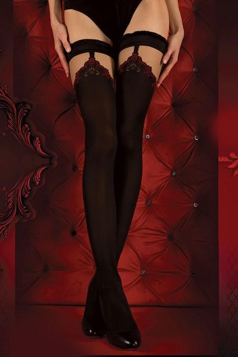 Luxusné pančuchové nohavice Red Intense 345