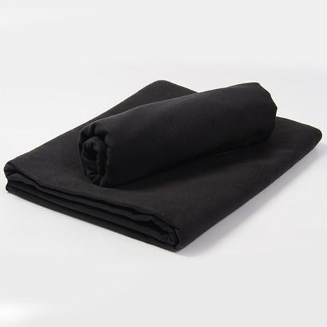 Funkčný uterák a osuška čierna