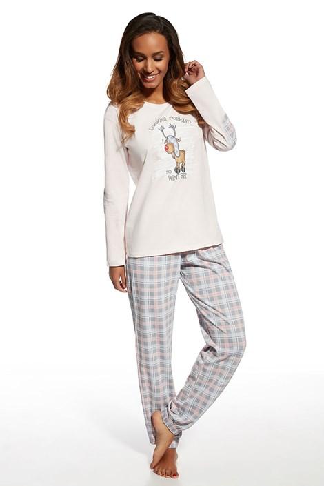 Dámske bavlnené pyžamo Rudolf