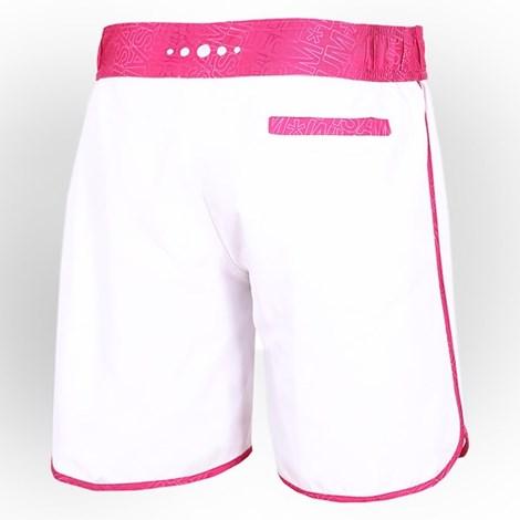 Dámske športové šortky biele