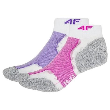 Dámske športové ponožky Violet - 2pack
