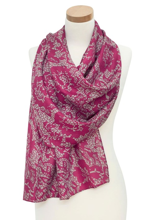 Elegantná šatka Layse ružová