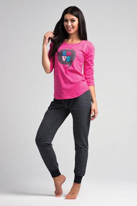 Dámske pyžamo Love Pink