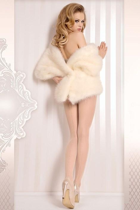 Luxusné pančuchové nohavice Wedding 381