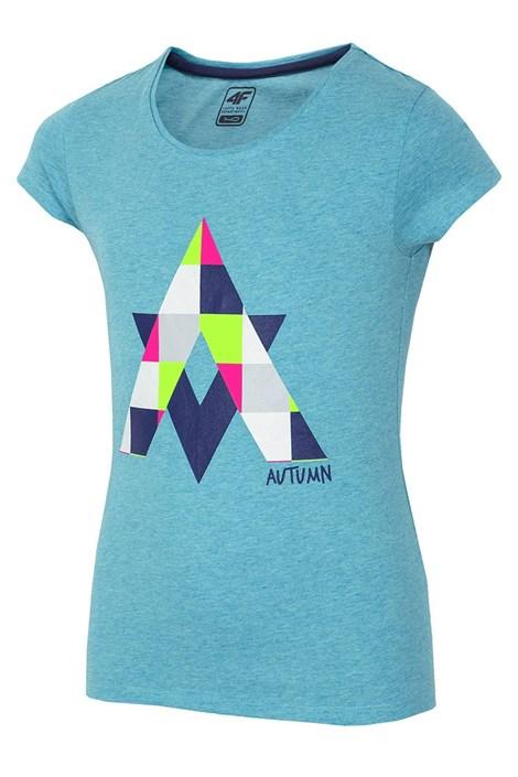 Dievčenské tričko Autumn Blue