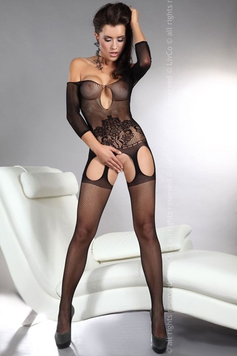 Bodystocking Adiva Black