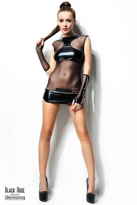 Šaty + nohavičky s retiazkami Anette