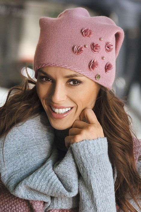 Dámska čiapka Clarisa Pink
