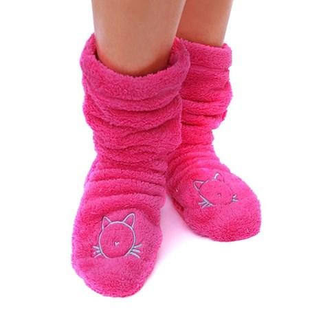 Hrejivé ponožky Duffy Pink
