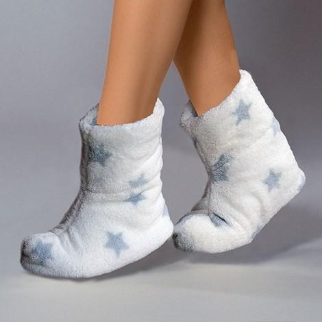 Hrejivé papuče Stars Crystal