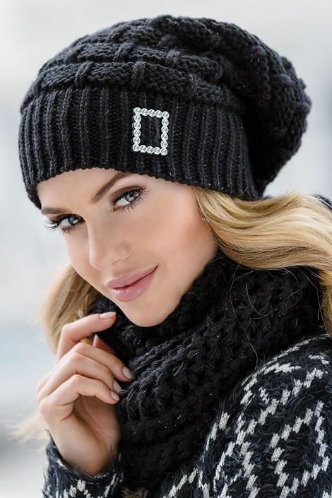 Dámska čiapka Paloma Black