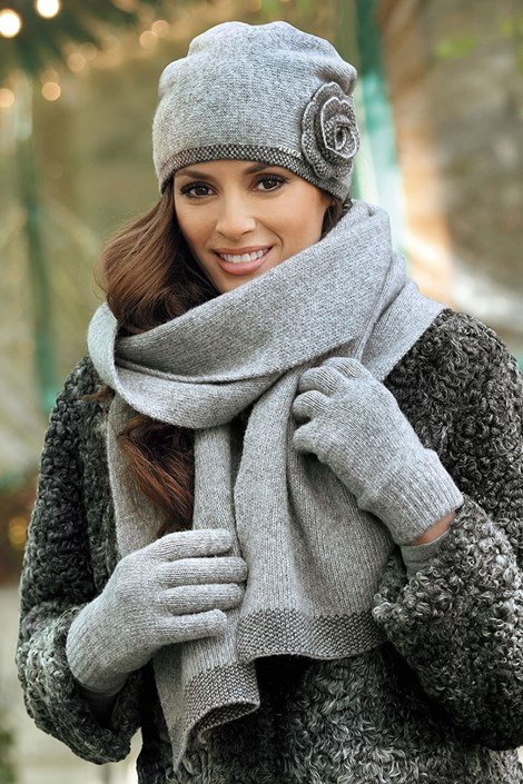 Dámske rukavice Pepita Grey