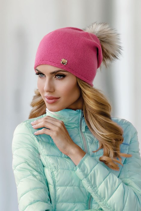 Dámska čiapka Pia Pink