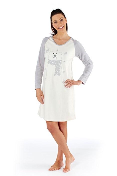 Dámska nočná košeľa Polar bear