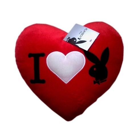 Vankúšik Heart Bunny Red