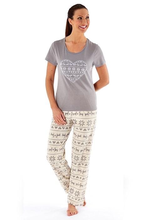 Dámske pyžamo Hearty Winter