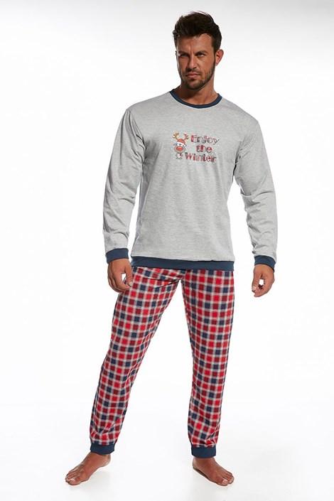 Pánske bavlnené pyžamo Winter