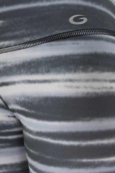 Športové capri legíny Zebra