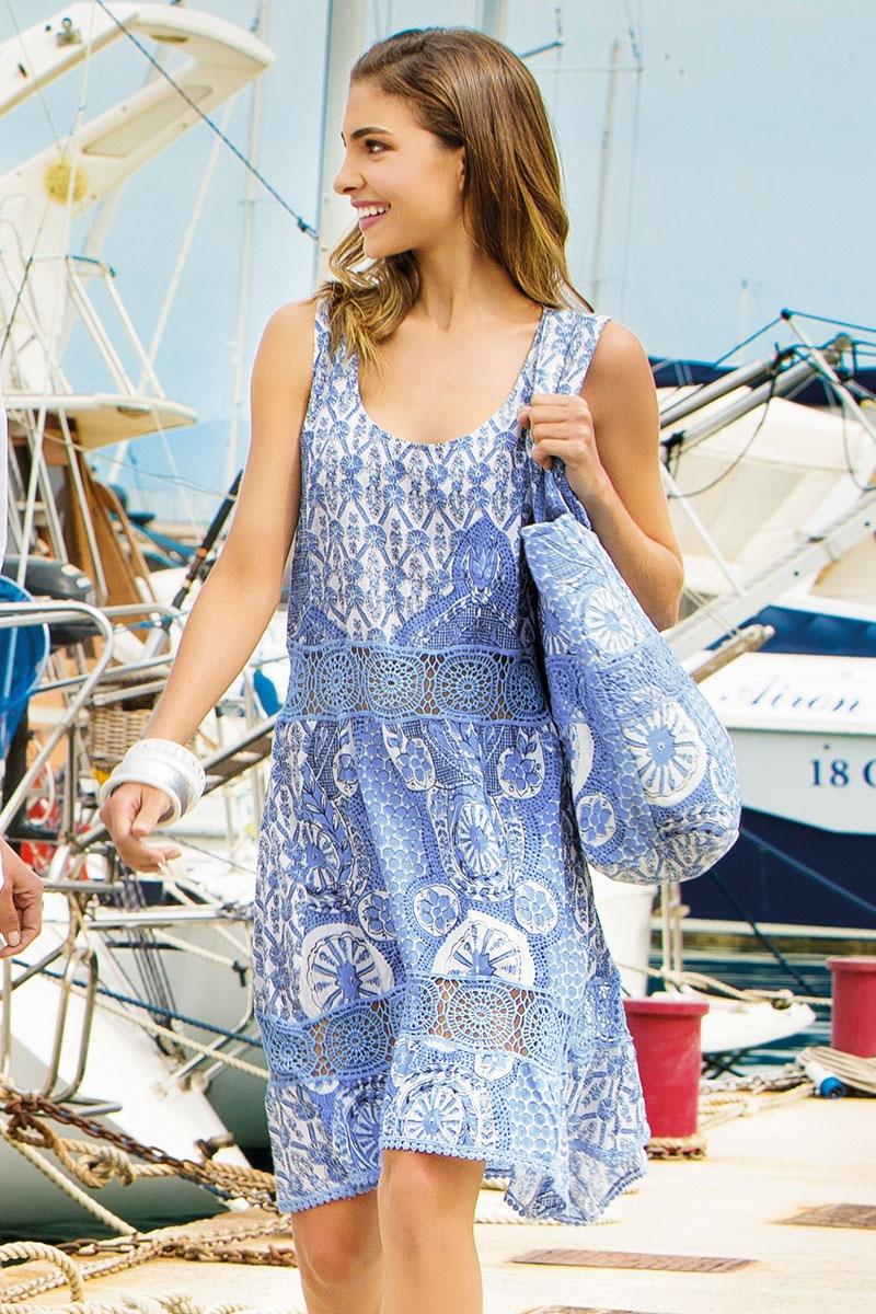 0208eaa5aa3a Dámske plážové šaty talianskej značky Iconique IC8057 Sand eshop ...