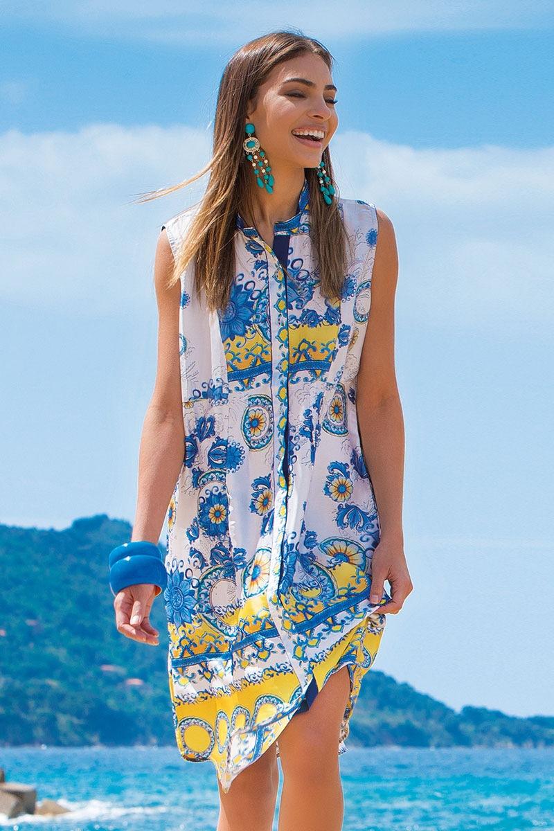 19434342a5da Dámske letné košeľové šaty Flossie z kolekcie Iconique eshop Iconique