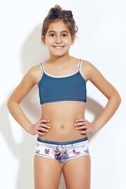 Dievčenský komplet top a nohavičky 377