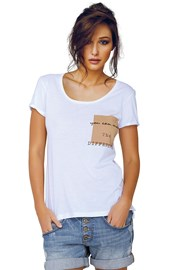 Dámske tričko Jadea 4545v2 s modalom