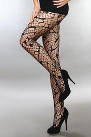 Sieťované pančuchové nohavice Aliza