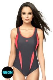 Dámske jednodielne športové plavky Aqua