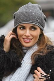 Dámska čiapka Benita Grey